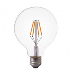 Filament bulb G125 - clear