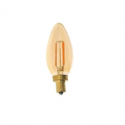Filament bulb C35 - amber