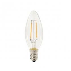 Filament bulb C35 - clear