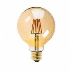 Filament bulb G125 - amber
