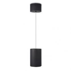 Plafo 15 - pendant - black