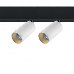 48V tracklight 2x8w - white